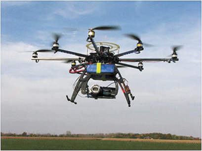 remote-controlled drone