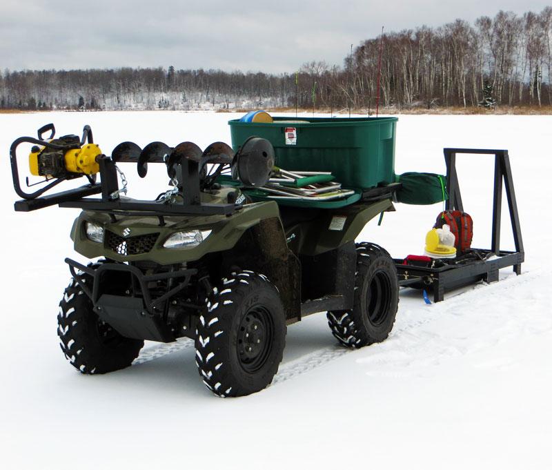 Some New Ice Fishing Mods Big Kype